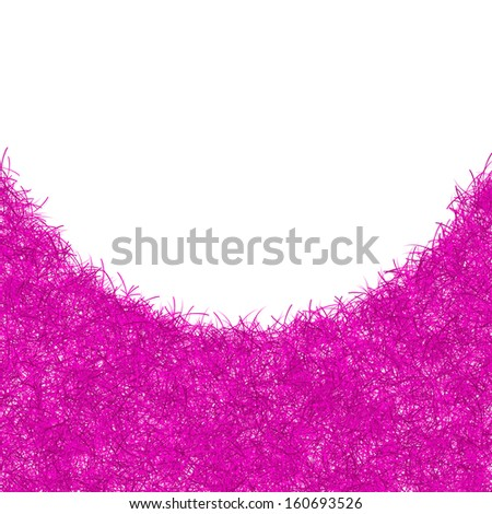 pink christmas tinsel texture background blank for text
