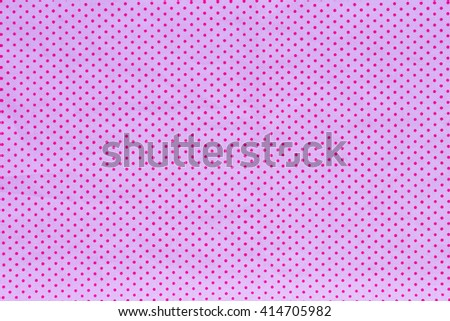 Pink classic checkered tablecloth texture, background with copy space - stock photo