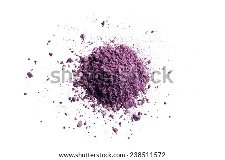 Pink Color Eyeshadow - stock photo