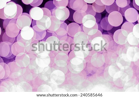 pink color tone bokeh background - stock photo