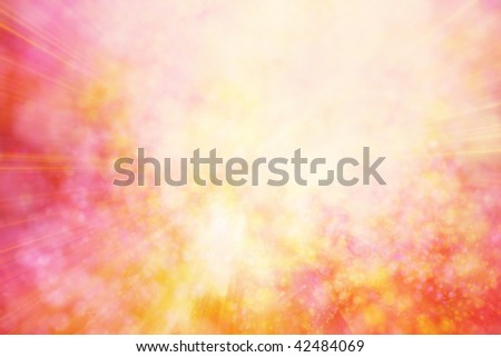pink computer generated abstract background - stock photo