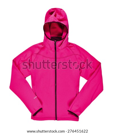 pink jacket - stock photo