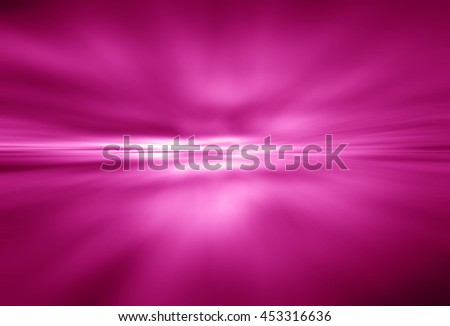 pink Light festive background. Elegant abstract background with bokeh defocused lights. zoom motion move speed - stock photo