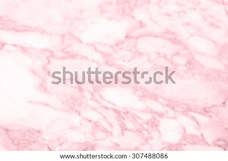 Pink light marble stone texture background - stock photo