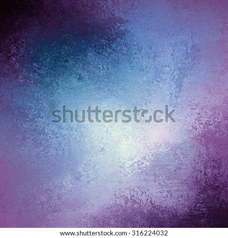 pink purple and blue toned background color with vintage grunge background texture - stock photo