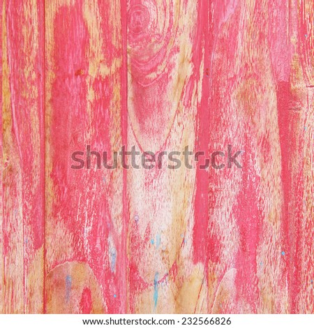 pink shabby wooden background - stock photo