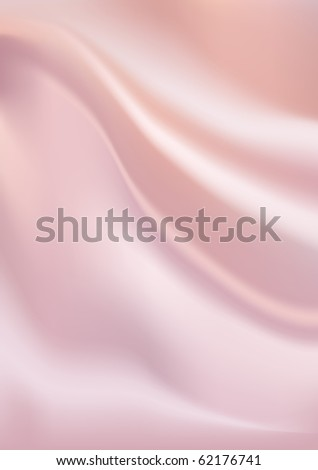 Pink silk background. Raster version. Vector version is in my gallery. - stock photo