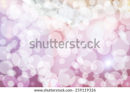 Pink spacey bubbles bokeh - stock photo