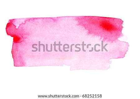 Pink strokes - stock photo