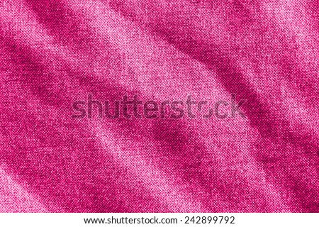 pink textile background texture - stock photo
