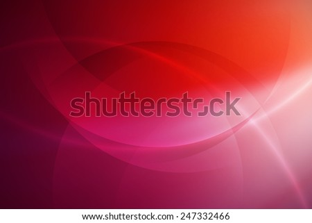 pink to red gradient abstract background with curve line - stock photo