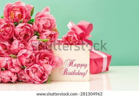 Birthday Flowers Stock Images, Royalty-Free Images & Vectors ...