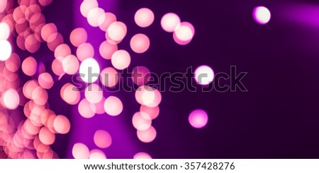 pink valentine bokeh background - stock photo