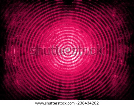 pink vintage spiral background texture - stock photo