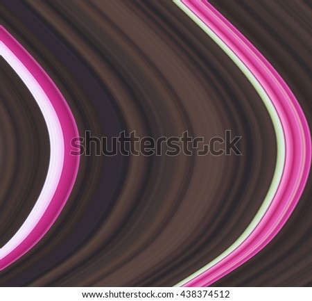 pink  waves abstract   - stock photo