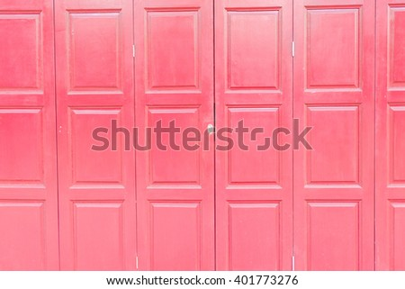 pink wood door background