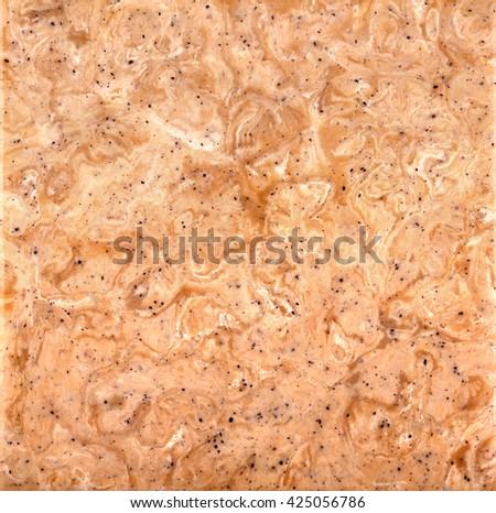 Pinkish-tan stone background square - stock photo