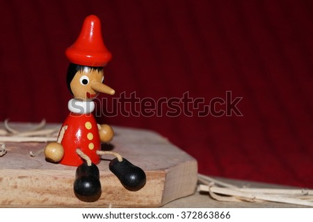Pinocchio - stock photo