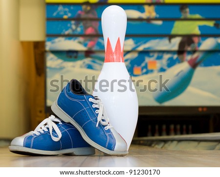 Pins and shoes - stock photo