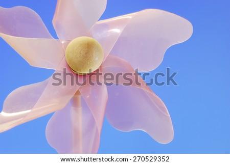 Pinwheel Pink - stock photo