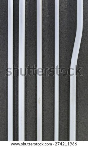 pipe wall - stock photo