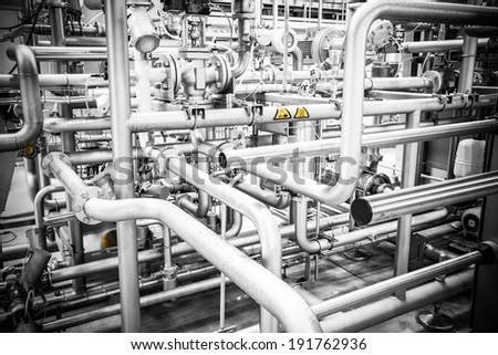 pipeline - stock photo
