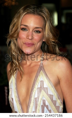 "Piper Perabo attends the World Premiere of ""Cheaper By The Dozen 2"" held at the Mann Village Theatres in Westwood, California, United States on December 13, 2005.  - stock photo"