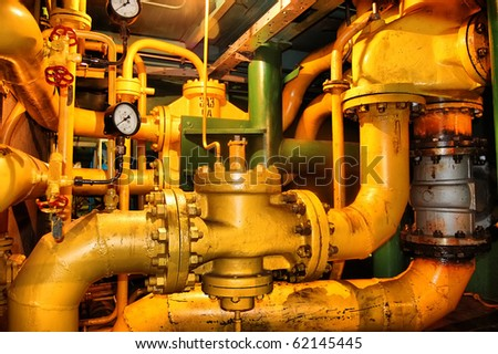 Pipes and tubes - stock photo