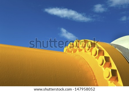 Pipes and Valves  - stock photo