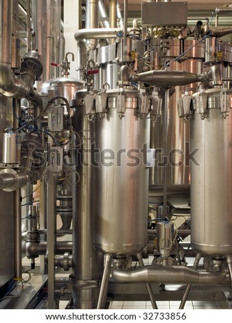 Piping. - stock photo