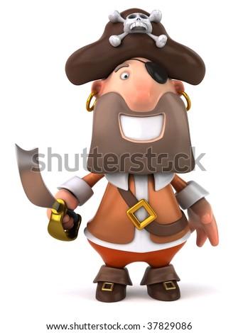 Pirate - stock photo