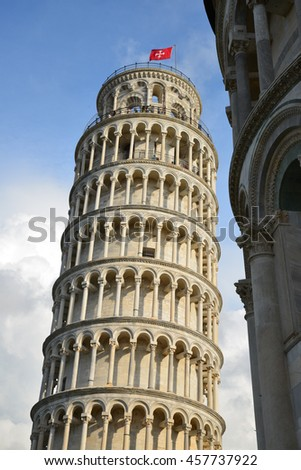 Pisa, leaning tower and dome