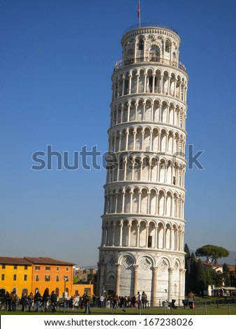 Pisa, Piazza dei Miracoli - stock photo