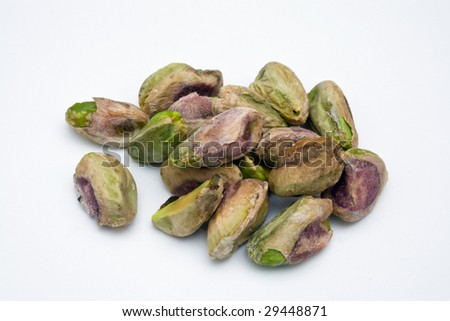 Pistacchi with no shell