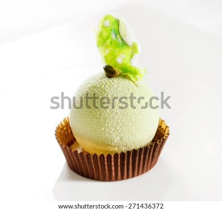 pistachio dessert  - stock photo