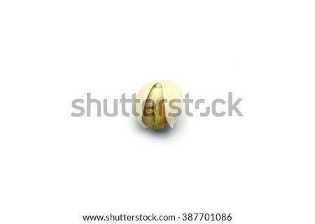 Pistachio Nut (Pistacia Vera) - stock photo