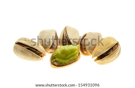 Pistachios nut in shell