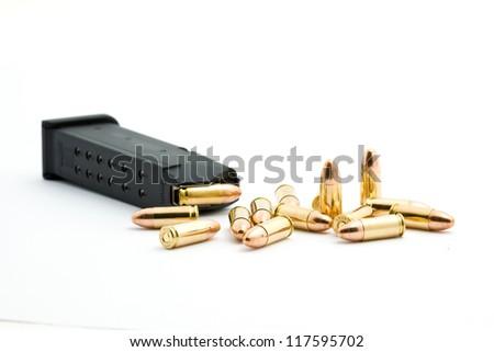 pistol - stock photo
