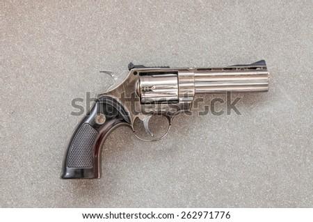 pistol gun  - stock photo