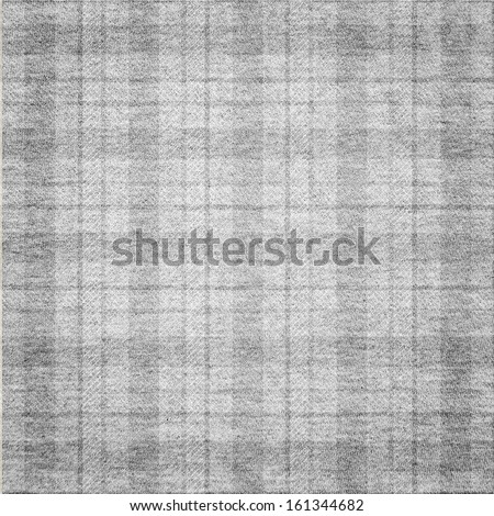 plaid fabric texture - stock photo