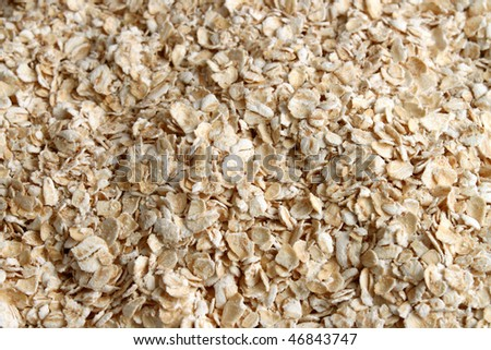 Plain healthy oatmeal great for a healthy food background