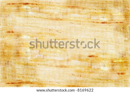 Plain papyrus can be used as a background.