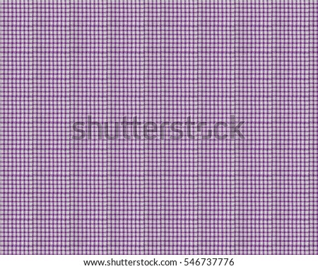 Plain Purple checkered fabric background texture