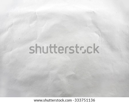Plain white paper texture background - stock photo