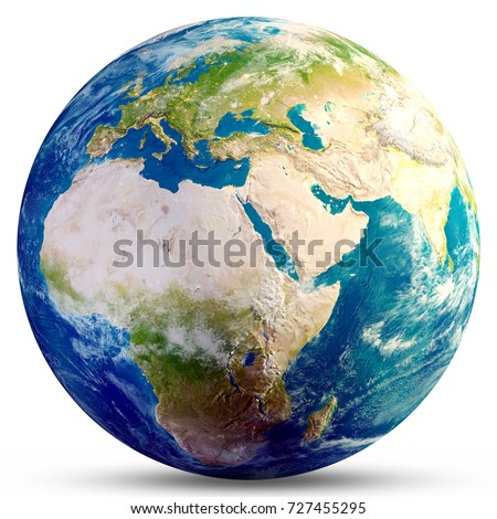 Planet earth globe elements this image stock illustration planet earth globe elements of this image furnished by nasa 3d rendering sciox Image collections