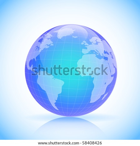 Planet Earth sphere