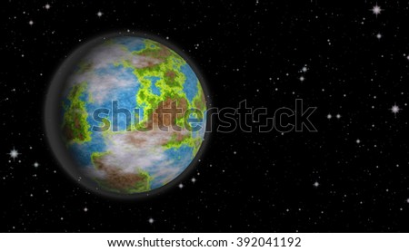 Planet earth surrounded by the stars. universe planet. universe planet. universe planet. universe planet. universe planet. universe planet. universe planet. universe planet. universe planet. universe - stock photo