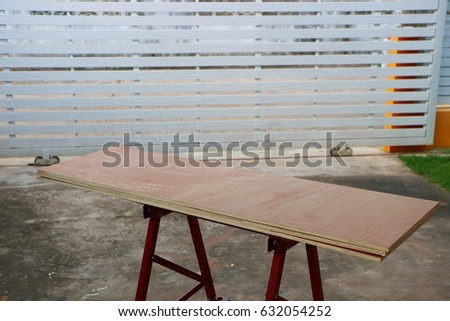 Plank for making furniture