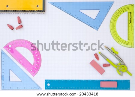 Planning an education - stock photo