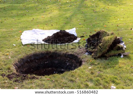 Hole In Ground Stock Images, Royalty-Free Images & Vectors ...
